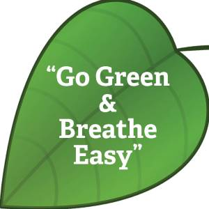 blog: go green & breathe easy