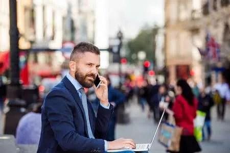 British Business Man Meeting