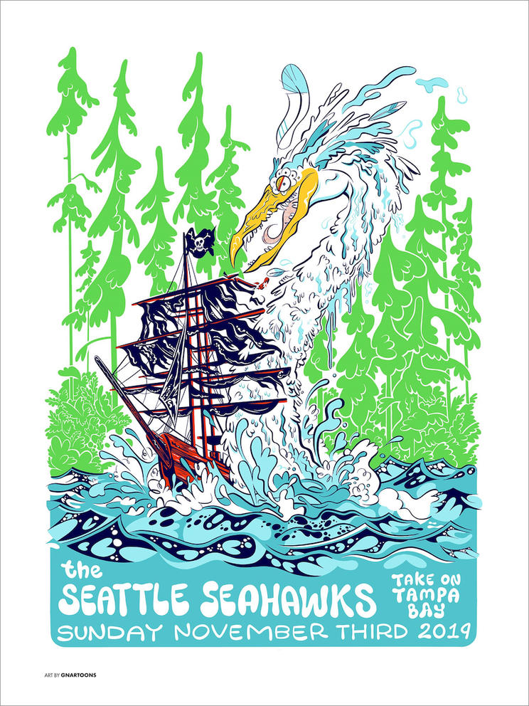 seahawks draft seattle artists for new