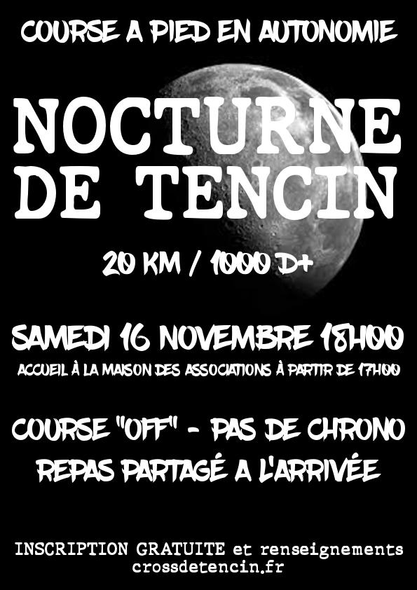 Affiche Nocturne 2019