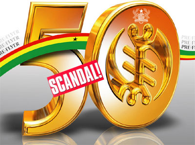 Ghana@50 scandal over vanished funds
