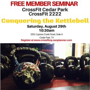 Conquering the Kettlebell