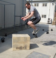 More box jumps