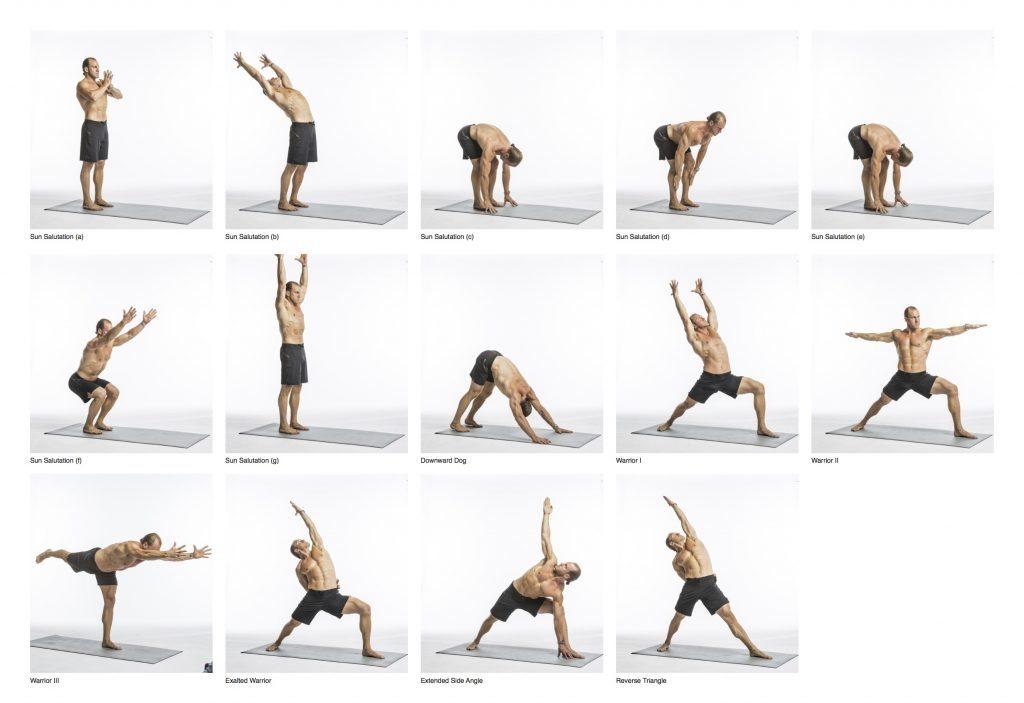 yoga warrior series | Kayaworkout co