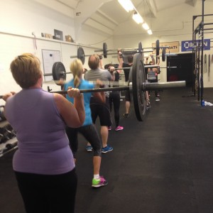 Coaching at CrossFit Blackwater gym in essex