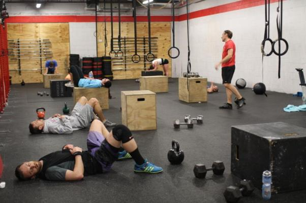 Post-WOD nap time?