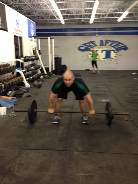 From 101 class to Snatches! Nice work Ricardo! Welcome to CCP.. You're gonna fit in just fine!