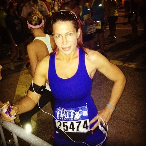 Great Job Michele on your half marathon! She knocked 10 minutes of her time from last race! We are so proud of you!