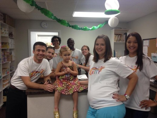 Thank you to everyone who purchased a Team Bitty shirt.. CCP raised over $1,000 for Pediatric Cancer!