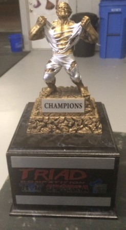 We have to keep this trophy!! come join us for some fun 11/1 9am!