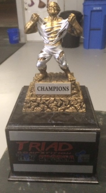 TRIAD this Saturday at CCP.. we are hosting SPARTA and T.G.F!  We need to kkep the trophy! If you are not able to join the FREE competition then just come out and cheer everyone on! There will be BBQ available for lunch! Going to be a great day!