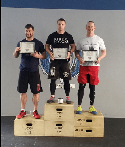 Mens Podium Chris Wilson - 2014 Jefferson City Throwdown