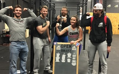 CrossFit COMO 2016 Open Series Draft Results