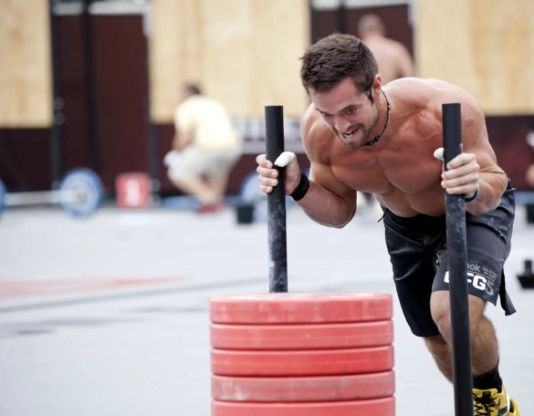 The World's Fittest Man in 2011, Rich Froning, Jr.