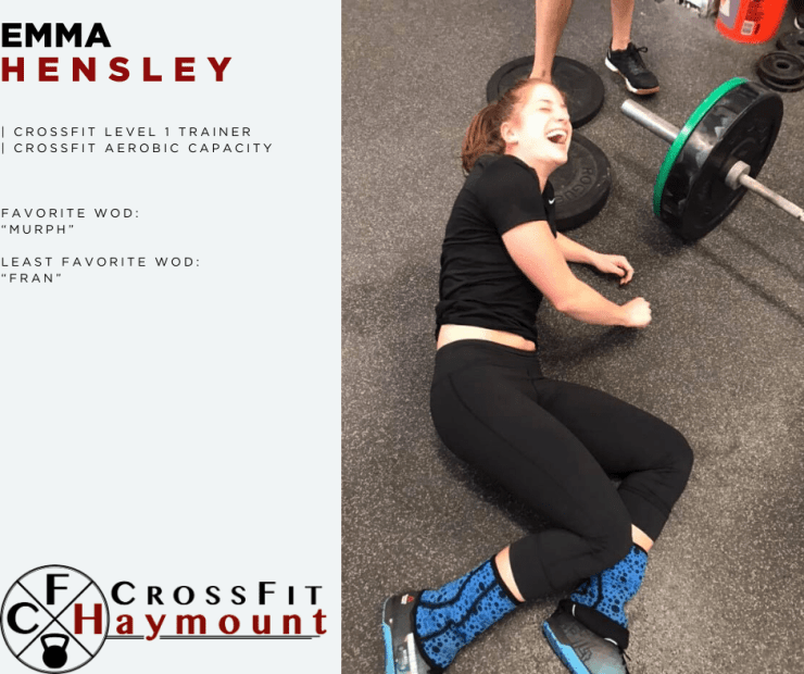 CrossFit Coach Emma Hensley