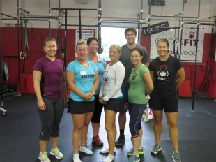 Awesome group for last Wednesday's 9am class!