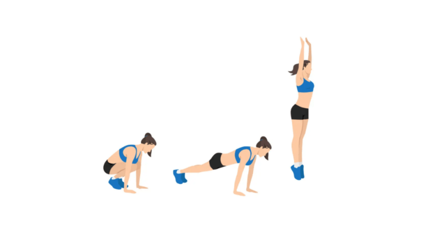 Best AMRAP Workouts Burpees