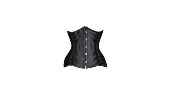 SHAPERX Women's Waist Training Corsets Underbust Heavy Duty 26 Steel Boned Hourglass Silhouette Body Shape