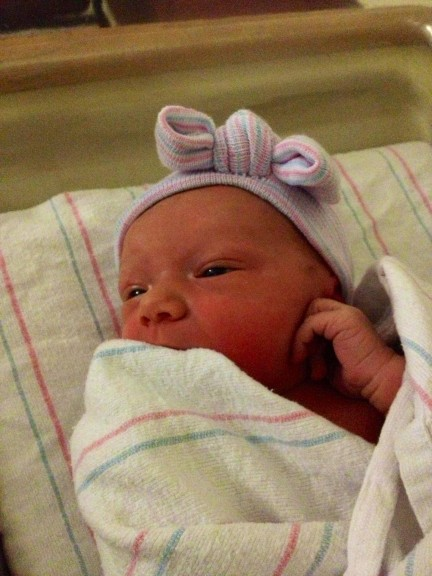 And a new Smulligan to love, Abigail Caroline!