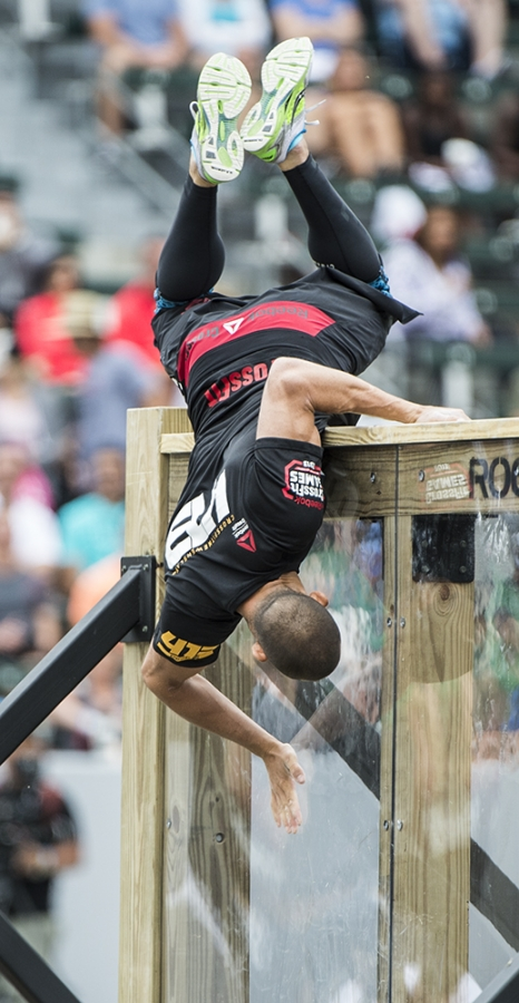 Na na na na na na na Spider Kev! Photo courtesy of Reebok Crossfit Games 2013