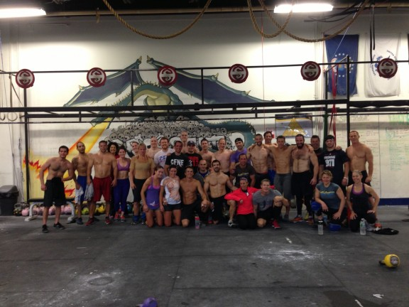 What's better than working out shirtless? Working out shirtless with the inventor of the shirtless workout, Mike Giorgio! Tons of fun with the 6:30amers yesterday!