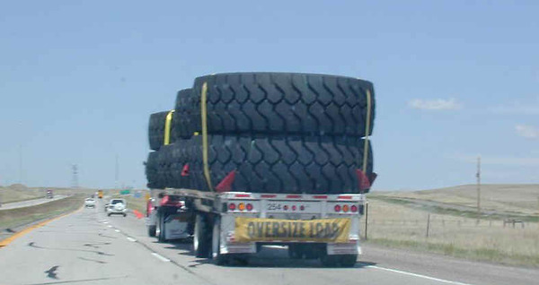HOLY TIRE!