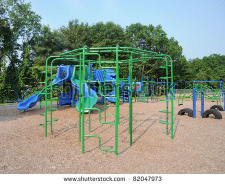 WHOA imagine playing on those monkey bars???