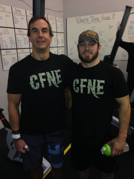 "Congrats to JC and Mick for an awesome performance at the ""Frosty Flourisher"" at Crossfit Free. Nice work boys!"
