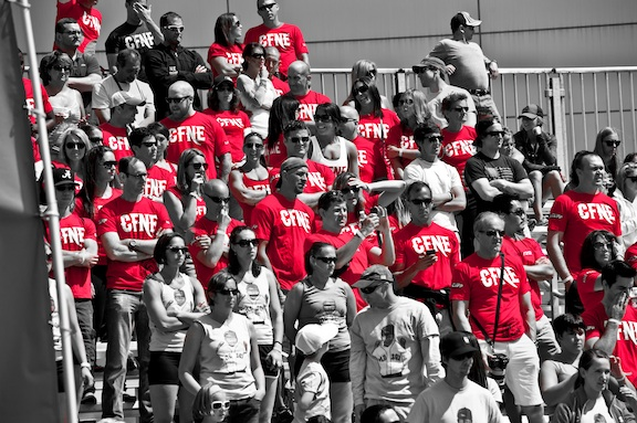 Are you ready for the Sea of Red!!!