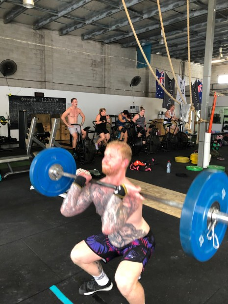 Thursday 13/2/20 Rogue Invitational WOD 1
