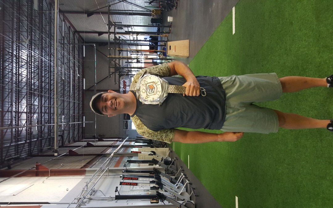 August Athlete of The Month Todd Robinson