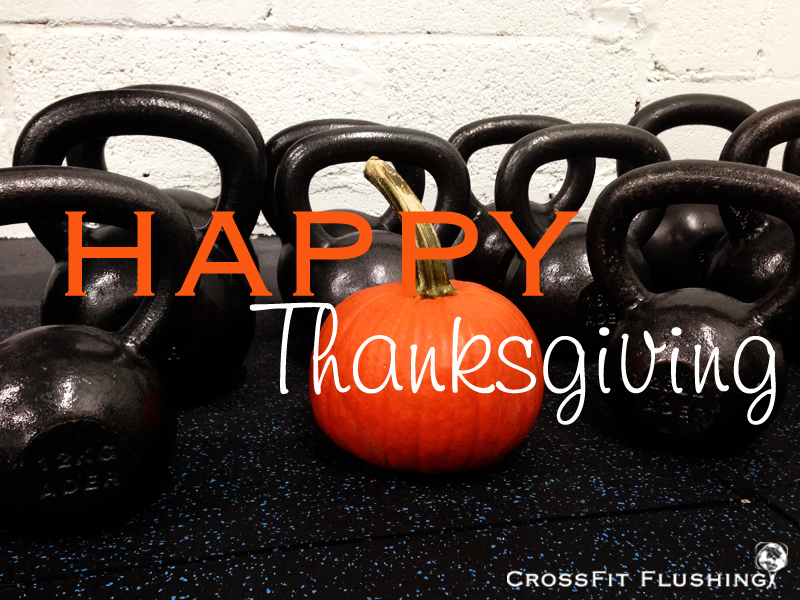 WOD Thursday 11/22/18 Happy Thanksgiving | CrossFit Synergistics