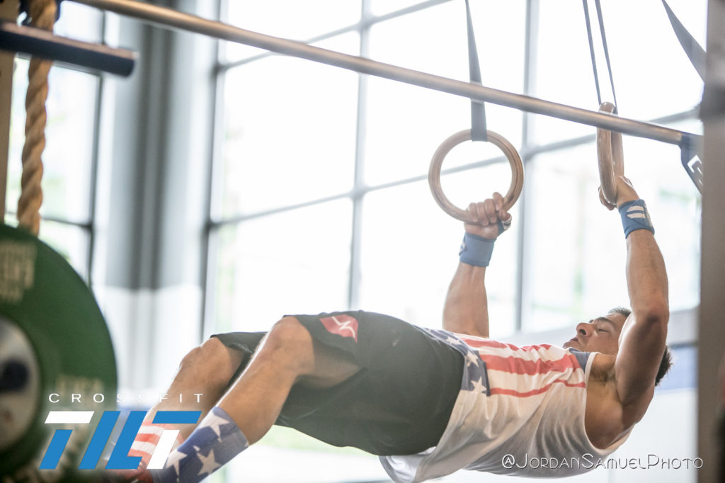 Who will make it to the muscle ups today?