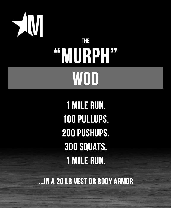 The Murph WOD | The Murph Challenge - Memorial Day