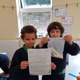 Third Class enjoy Science Experiments