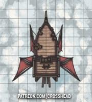 SMALL AIRSHIP D&D NO GRID LQ