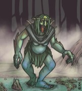 MONSTER BACKGROUNDS - SEA HAG