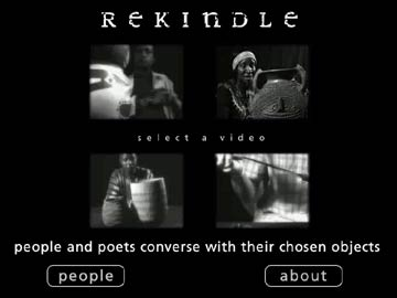 'Rekindle' Interactive Museum Object Stories