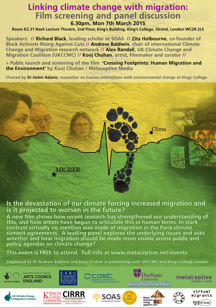 Crossing Footprints - Linking Climate Change with Migration (Flyer)