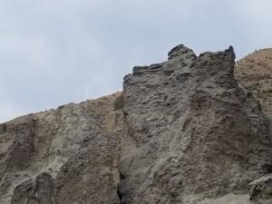 The timelessness of the rock face