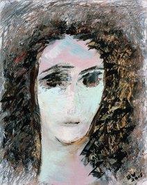 Painting by Gloria Vanderbilt