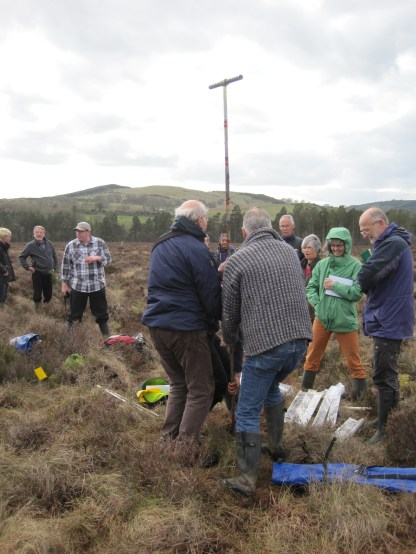 Coring at Kirkconnell Flow