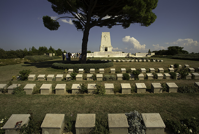 Lone Pine Cemetery, Gallipoli, Turkey