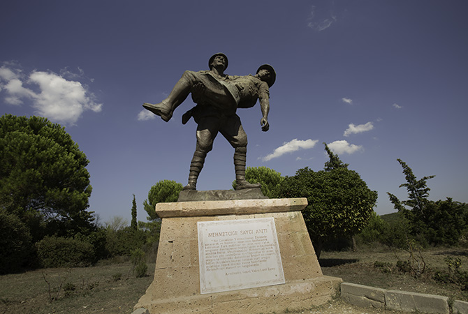 Statue of Turkish Hero