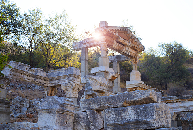 Sunrise at Ephesus