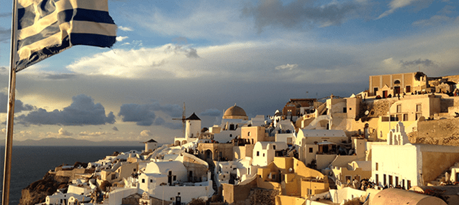 The Brides of Beautiful Santorini