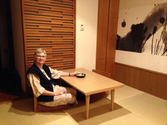 Tatami mat room