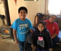Kids coats delivery, November photo by Sandra Cosentino
