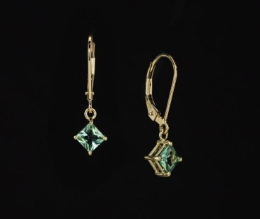 SparHawk Earrings in Yellow Gold