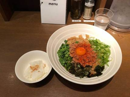 大阪・梅田 「ダイキ麺」 台湾混ぜそば